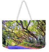 Tree Tunnel On The Big Island Weekender Tote Bag