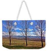Tree View Weekender Tote Bag