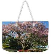 Tree With Pink Flowers Weekender Tote Bag