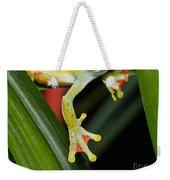 Treefrog Foot Weekender Tote Bag