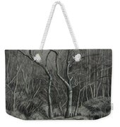 Trees Along The Greenway Weekender Tote Bag by Janet Felts