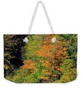Trees And Falls Weekender Tote Bag