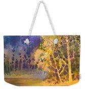 Trees And Water Weekender Tote Bag