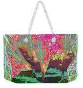 Trees Around Faal Season  Digitally Painted Photograph Taken Around Poconos  Welcome To The Pocono M Weekender Tote Bag