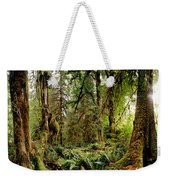 Trees At Olympic National Forest Weekender Tote Bag