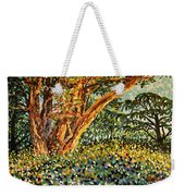 Trees At Sunset In Lafayette Park Weekender Tote Bag