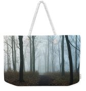 Trees During Autumn In Forest, Dupage Weekender Tote Bag