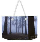 Trees Greenlake With Man Walking Weekender Tote Bag