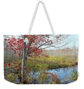 Trees In A Forest, Damariscotta Weekender Tote Bag