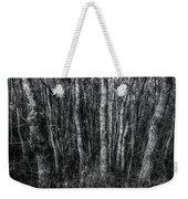Trees In Black And White Weekender Tote Bag
