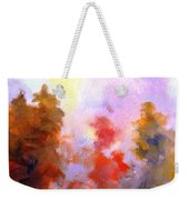 Trees In The Morning Weekender Tote Bag