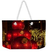 Trees Lights And Ornaments Weekender Tote Bag