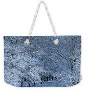 Trees Of Winter Weekender Tote Bag
