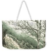 Trees On A Mountain Weekender Tote Bag