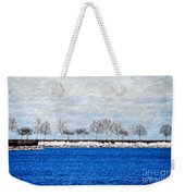 Trees On The Edge Weekender Tote Bag
