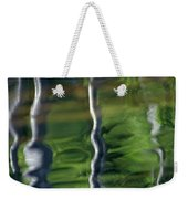 Trees Reflections On The River Weekender Tote Bag