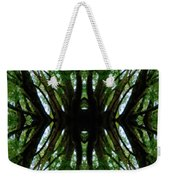 Treetops Abstract Weekender Tote Bag
