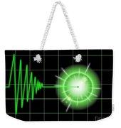 Tremor Black Weekender Tote Bag