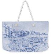 Trenby Bay Blueprint Weekender Tote Bag