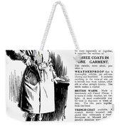 Trench Coat, 1917 Weekender Tote Bag