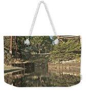 Trestle Over Reflecting Water Weekender Tote Bag