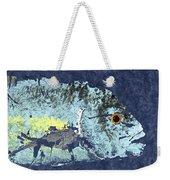 Gyotaku Trevally Weekender Tote Bag