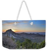 Trevenque Mountain At Sunset  2079 M Weekender Tote Bag