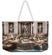 Trevi Fountain Weekender Tote Bag by John Wadleigh
