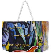 Trey Anastasio And Antelope Lryics Weekender Tote Bag