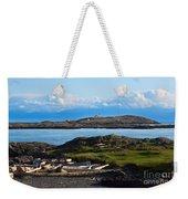 Trial Island And The Strait Of Juan De Fuca Weekender Tote Bag
