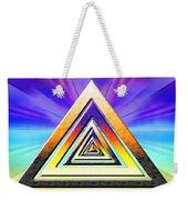 Triangle Pathway Weekender Tote Bag