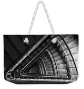 Triangle Staircaise In Bw Weekender Tote Bag
