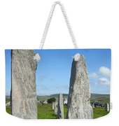 Triangular Callanish Stone Weekender Tote Bag