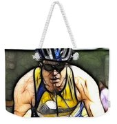Triathalon Competitor Weekender Tote Bag