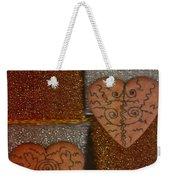 Tribal Hearts Weekender Tote Bag