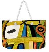 Tribal Mood Weekender Tote Bag