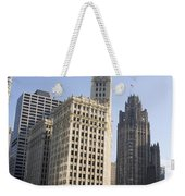 Tribune Tower Chicago Weekender Tote Bag