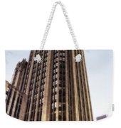 Tribune Tower Facade Weekender Tote Bag