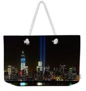 Tribute In Light From Bayonne Weekender Tote Bag by Nick Zelinsky