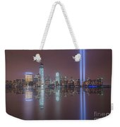 Tribute In Light Reflections Weekender Tote Bag