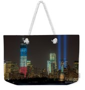 Tribute In Light Xiii Weekender Tote Bag by Clarence Holmes