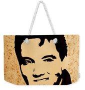 Tribute To Elvis Presley Weekender Tote Bag