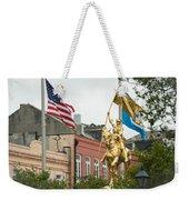 New Orleans Tribute To Joan Of Arc Weekender Tote Bag