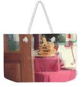 Little Italy - Rustic Door Weekender Tote Bag