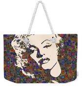 Tribute To Marilyn Monroe Weekender Tote Bag