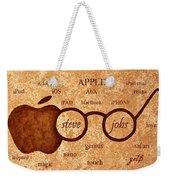 Tribute To Steve Jobs 2 Digital Art Weekender Tote Bag