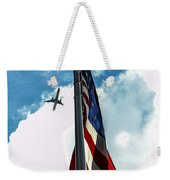 Tribute To The Day America Stood Still Weekender Tote Bag by Rene Triay Photography