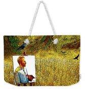 Tribute To Vincent Van Gogh - His Final Days Weekender Tote Bag