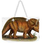 Triceratops Weekender Tote Bag