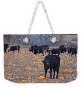 Trick Or Treat Cows Weekender Tote Bag
